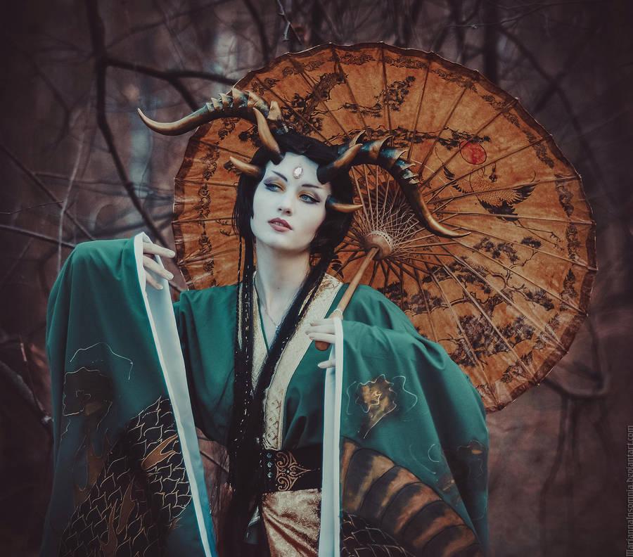 Dragon II by MariannaInsomnia