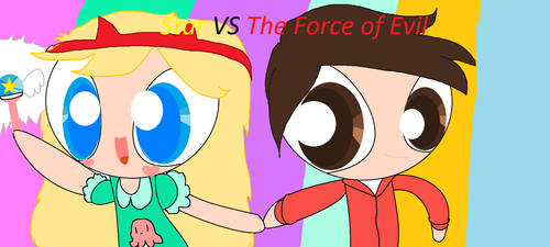 Star Vs the Force of Evil by FNAF2Poster