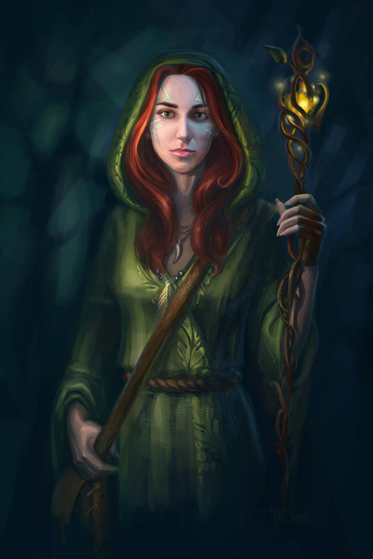 Druid by TorySevas