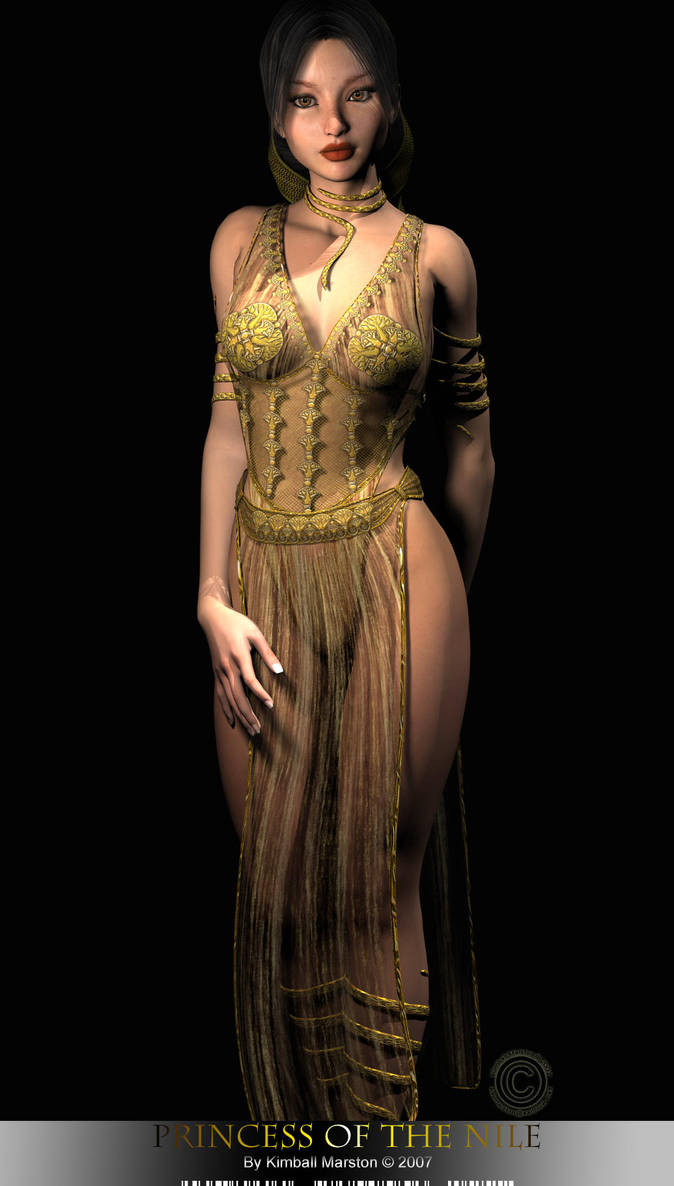 Princess of the Nile by artstrider