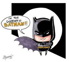 the goddamn Batman by kodokumegumi