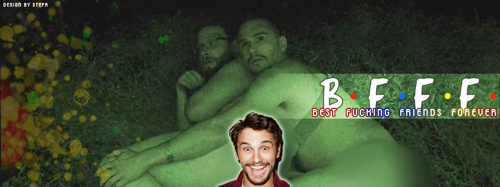 James Franco and Seth Rogen - FB COVER PHOTO by stefamarchwiowna