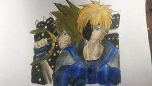 janga and sora vs the heartless by demiselight88