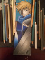 I'M BACK!!! anime bookmark  by demiselight88