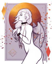 Chained Angel by SnowLicht