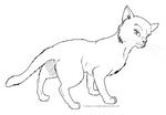 Cat Template 01 by StarlightsMarti