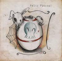 Feliz Pascoa! by StarlightsMarti