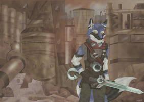 Blue Sharp Goes 'Ekko' by StarlightsMarti