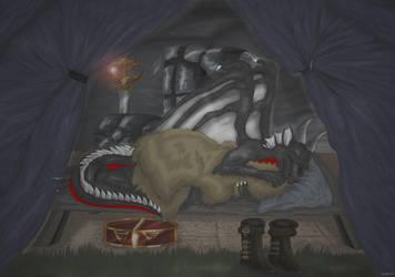 Keep Sleeping by StarlightsMarti
