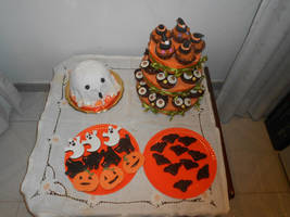 Halloween sweet table by Diotima96