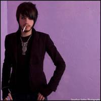Smoking Purple by JonnyBalls