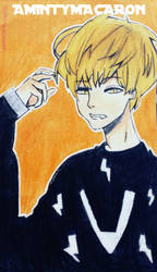 Taehyung (V)  Anime Version by taecchii