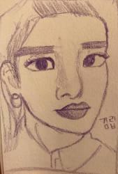 KimLip(LOONA) by taecchii