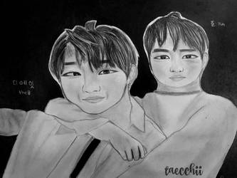 MY I/MINGHAO and JUN by taecchii