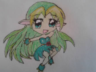 Little forest elf - coloured by annesocool