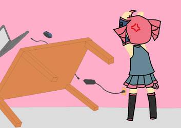 Flip That Table Teto!!!!!!!!! by THATutakuGURL