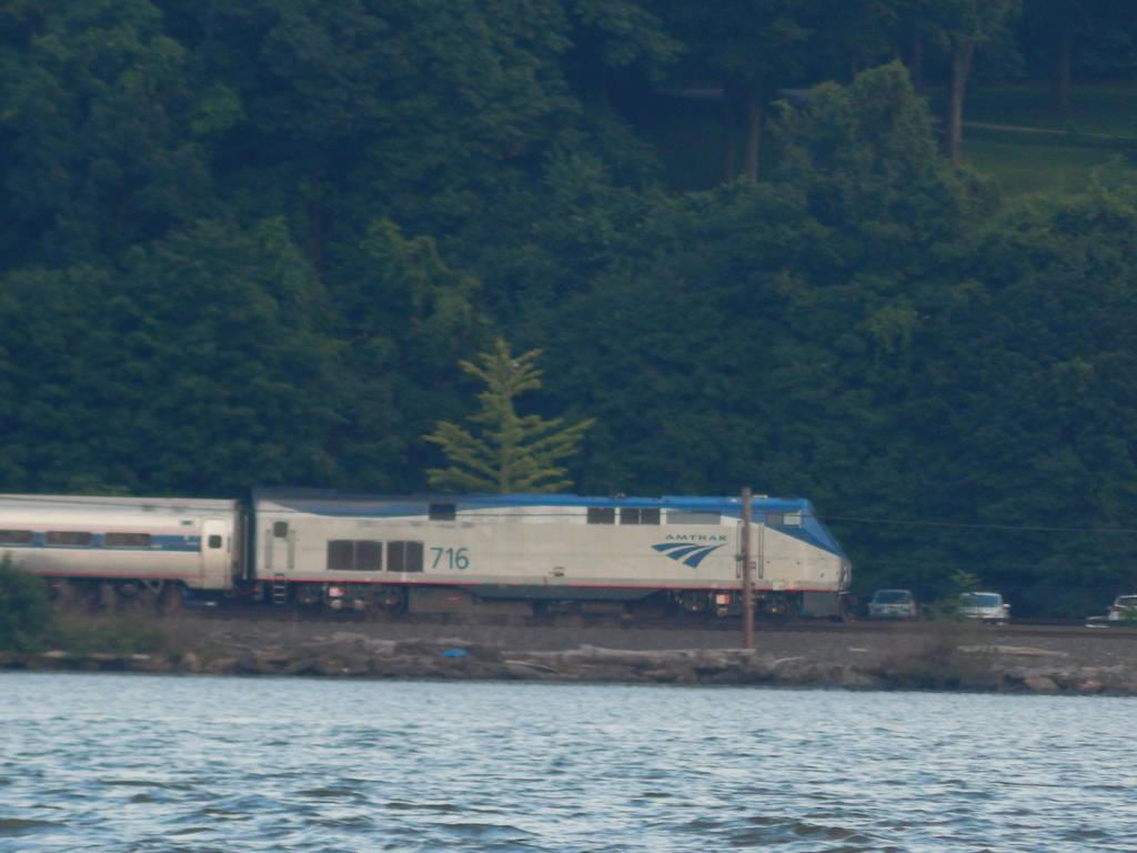 Amtrak P32AC-DM #716 by Tracksidegorilla1