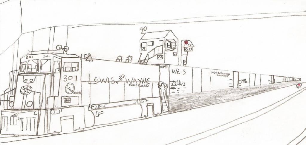 Lewis and Wayne RP20BD #301 by Tracksidegorilla1