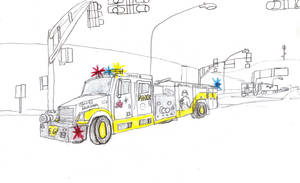 Haruna Hose Freightliner Engine 6 by Tracksidegorilla1