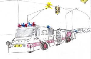 Sherwood Village Fire Co 1 Minotaur Engine 17 by Tracksidegorilla1