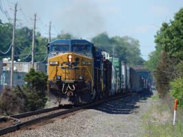 CSX CW44AC #89 by Tracksidegorilla1