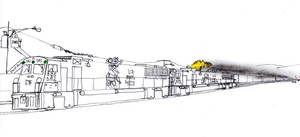 Big Ben Express HSD-9 #582 by Tracksidegorilla1