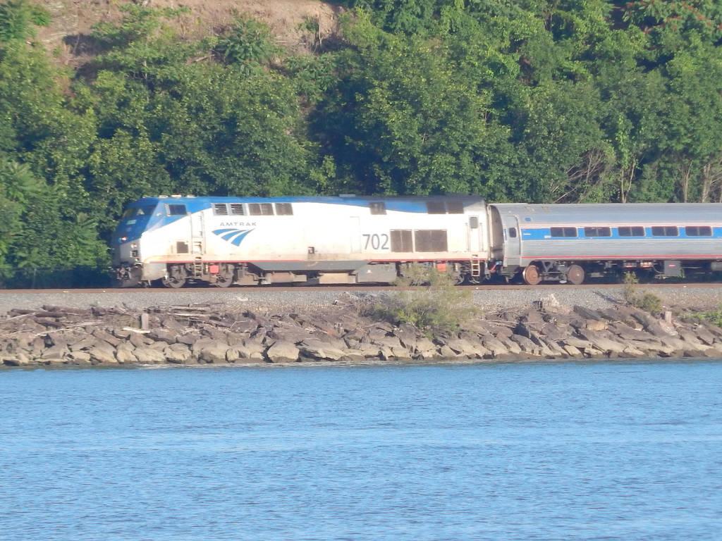Amtrak P32AC-DM #702 by Tracksidegorilla1
