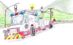 Central Fire Company Minotaur Cadet I Engine 11 by Tracksidegorilla1