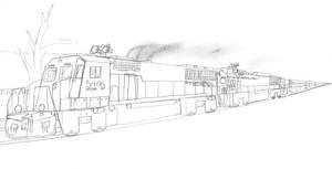 Big Ben Express GP50PR #5406 by Tracksidegorilla1
