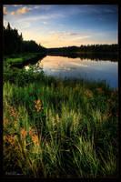 Slim Lake by poe47