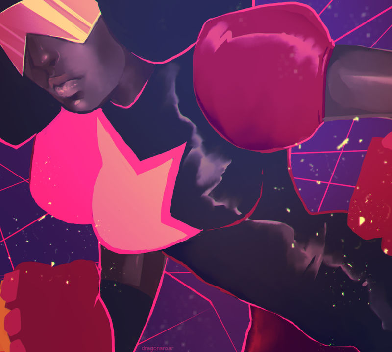 STEVEN UNIVERSE: GARNET by GRAVEWEAVER