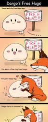 Dango's Free Hugs by bloominglove