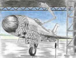 Orbital MiG 21 by Medjoe