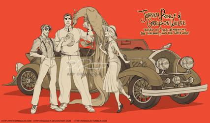 Johnny Prince and Greyson Wolfe by ramida-r