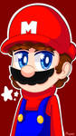 |SMB|: Mario by Miaumy