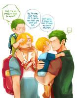 ZoSan big family by Yuushishio