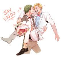 Wedding by Yuushishio