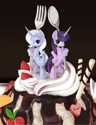 Spoon and Fork by ponyKillerX