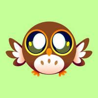 [Cute Vectors] Owl by Tiitcha