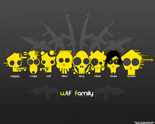 WTF Clan Wallpaper by ElderW