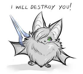 Fear the Bat! by Telokey