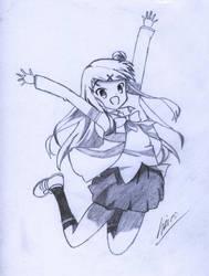 Kujou Karen from Kiniro Mosaic by ericohermanoy27
