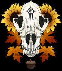 Wolf Skull Tattoo Design by TheHuntingWolf on DeviantArt