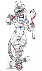 COMMISSION: Sekhmet Brittany by TheHuntingWolf