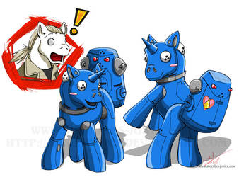 My Little Tachi Pony by Angiechan13