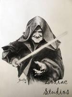 Darth Sidious - Ian McDiarmid by ZodiacStudiosNL