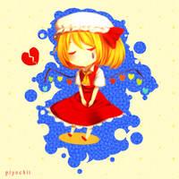 Lonely Locked Girl by PiyoriYoake