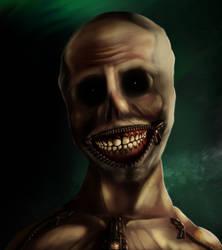 Zipper Boy with Zipper smile by Souvillaine
