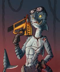 Pinned Down [Character Design] by DeadBird-Hushabye