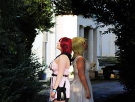 Namine and Kairi - Light and Darkness by KairiCosplayHearts